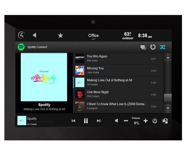 Audiosüsteemi jagamine ja Spotify
